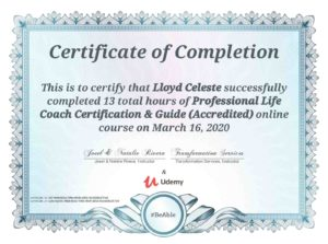 Udemy Professional Life Coach